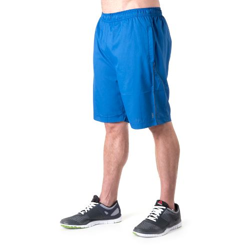 Mens Tasc Performance Greenwich 2-in-1 Shorts - Cobalt/Gunmetal M
