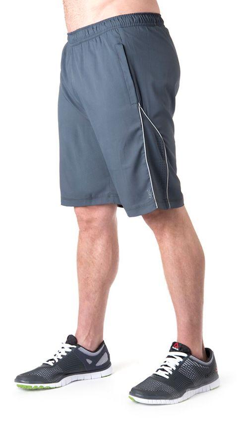 Mens Tasc Performance Greenwich 2-in-1 Shorts - Gunmetal/Storm L