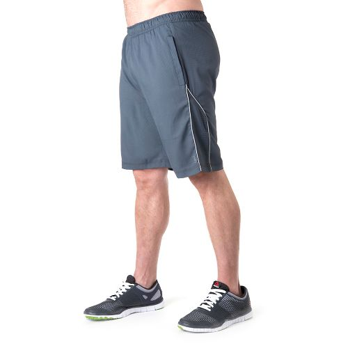 Mens Tasc Performance Greenwich 2-in-1 Shorts - Gunmetal/Storm XXL