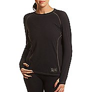 Womens Tasc Performance Base Layer Level B Long Sleeve No Zip Technical Tops