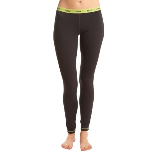 Womens Tasc Performance Base Layer Level B Pant Fitted Tights - Gunmetal M