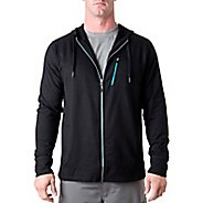 Mens Tasc Performance Elevate Fleece Full Zip Hood Warm-Up Hooded Jackets