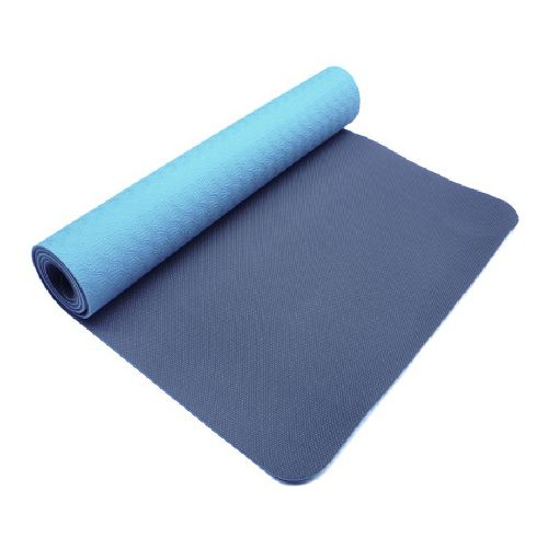 Trimax PurEarth II Eco Mat Fitness Equipment - Navy Blue/Light Blue