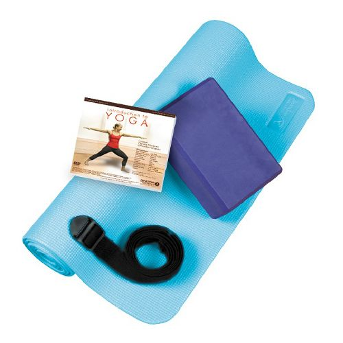 Trimax Zenzation Deluxe Yoga Kit Fitness Equipment - Purple/Blue
