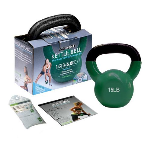 Trimax Kettle Bell Fitness Equipment - Green