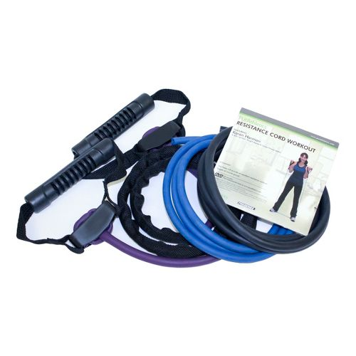 Trimax Resistance Cord Kit Fitness Equipment - Black