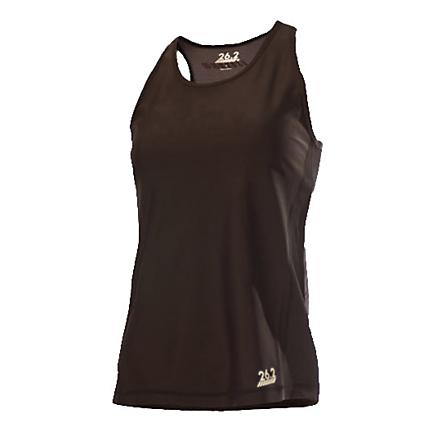 Womens 26.2 Running Performance Racerback Tank Top Sport Top Bras