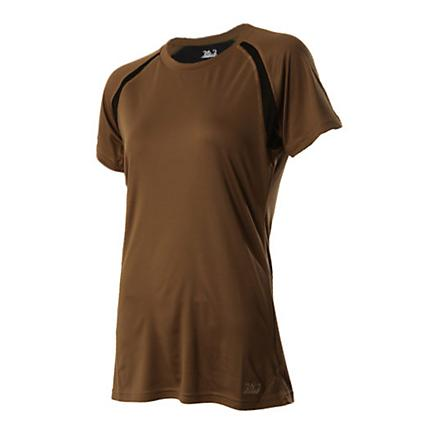 Womens 26.2 Short Sleeve Classic Running Performance Tee Technical Tops
