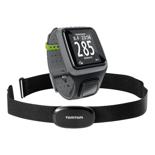 TomTom Runner GPS Watch+Heart Rate Monitor - Dark Grey