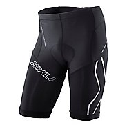 Mens 2XU Compression Tri Fitted Shorts