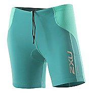 Womens 2XU Comp Tri Short Fitted