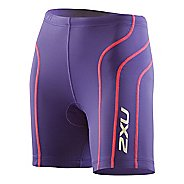 Womens 2XU Active Tri Fitted Shorts