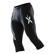 Mens 2XU Compression 3/4 Tights Capri