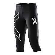 Womens 2XU Compression 3/4 Tights Capri