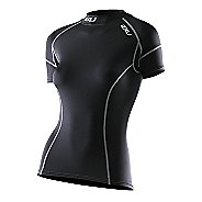 Womens 2XU Elite Short Sleeve Compression Top Technical Tops