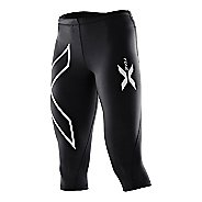 Womens 2XU Thermal 3/4 Compression Tights Capri