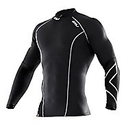 Mens 2XU Thermal Compression Long Sleeve Top No Zip Technical Tops