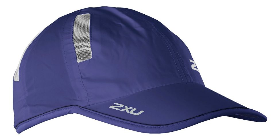 2XU® Run Cap :: A great fitting, lightweight, run cap designed to give you UPF 50+ sun protection while keeping you dry and cool.   This web exclusive item ships separately within the continental U.S. only. You can count on this item to ship in 3-5 business days!