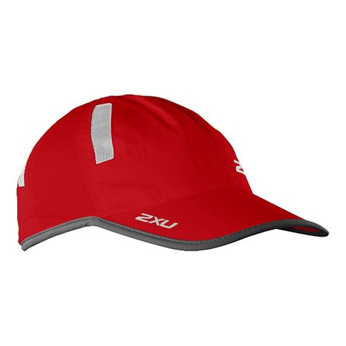 2XU Run Cap Headwear - Rio Red/Ink