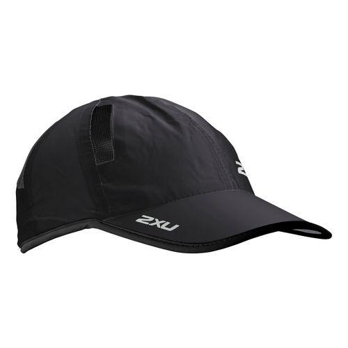 2XU Run Cap Headwear - Black/Black