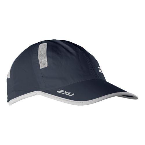 2XU Run Cap Headwear - Blue Slate/Concrete Grey