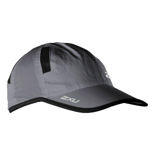 2XU Run Cap Headwear - Charcoal/Black