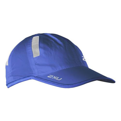 2XU Run Cap Headwear - Royal Blue/White