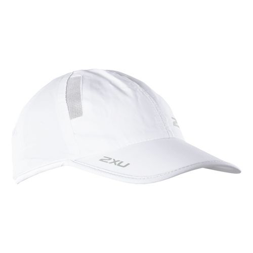 2XU Run Cap Headwear - White/White