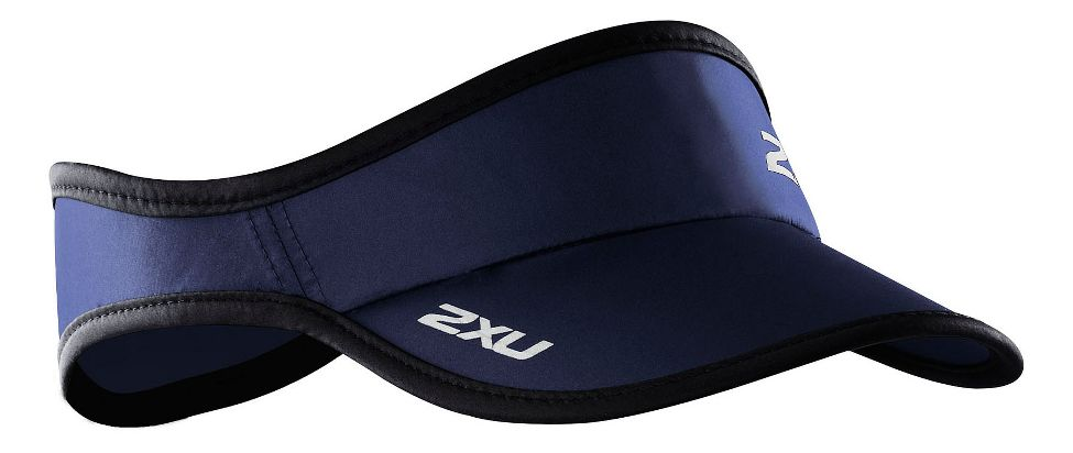 2XU® Run Visor :: The sun is relentless, and any endurance athlete understands the need for head protection when competing and training under its glare. 2XU® have once again sourced the highest quality materials to deliver an accessory that performs beyond expectation.   This web exclusive item ships separately within the continental U.S. only. You can count on this item to ship in 3-5 business days!