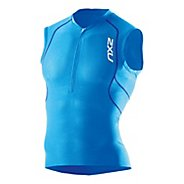 Mens 2XU Active Tri Singlet Technical Tops