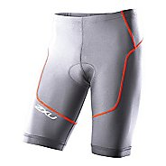 Mens 2XU Long Distance Tri Fitted Shorts