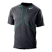 Mens 2XU Comp Run Short Sleeve Top Short Sleeve Technical Tops