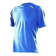 Mens 2XU Active Run Short Sleeve Technical Tops