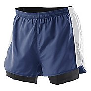 Mens 2XU 1/2 Compression X Run Lined Shorts
