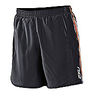 Womens 2XU Run - Medium Leg Lined Shorts
