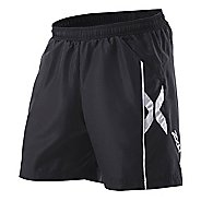 Mens 2XU Sport Short - Long Leg Lined Shorts
