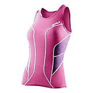 Womens 2XU Long Distance Tri Technical Tops