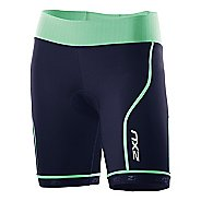 Womens 2XU Comp Tri Fitted Shorts