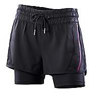 Womens 2XU Freestyle Short w/Compression Lined