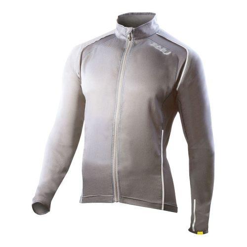 Mens 2XU Vapor Mesh 360 Running Jackets - Slate/Blue Glass S