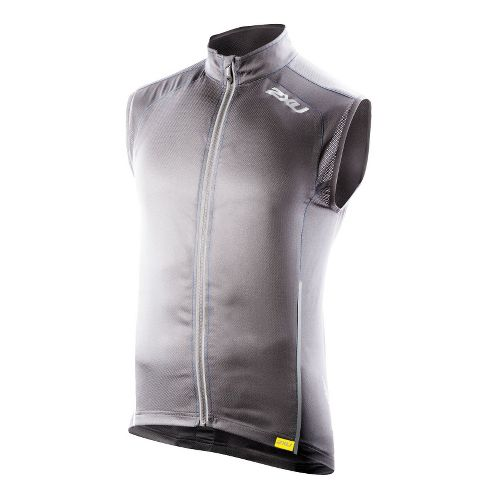 Mens 2XU Vapor Mesh 360 Running Vests - Slate/Blue Glass XL