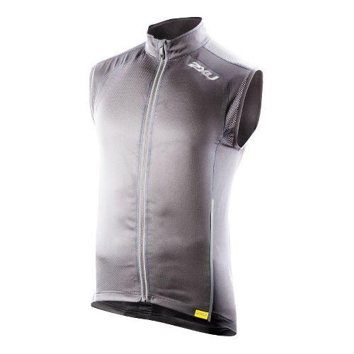 Mens 2XU Vapor Mesh 360 Running Vests - Slate/Blue Glass XS