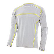 Mens 2XU Comp Run Top Long Sleeve No Zip Technical Tops