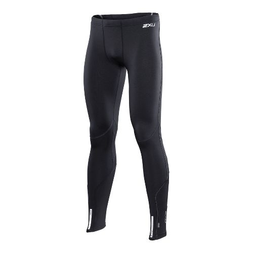 Mens 2XU Thermal Fitted Tights - Black/Black L