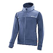Mens 2XU Active Fleece Cruizer Warm-Up Hooded Jackets