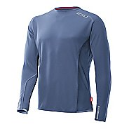 Mens 2XU Cruize Long Sleeve No Zip Technical Tops