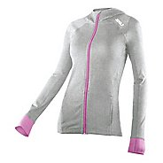 Womens 2XU Marle Power X Hoodie Warm-Up Hooded Jackets