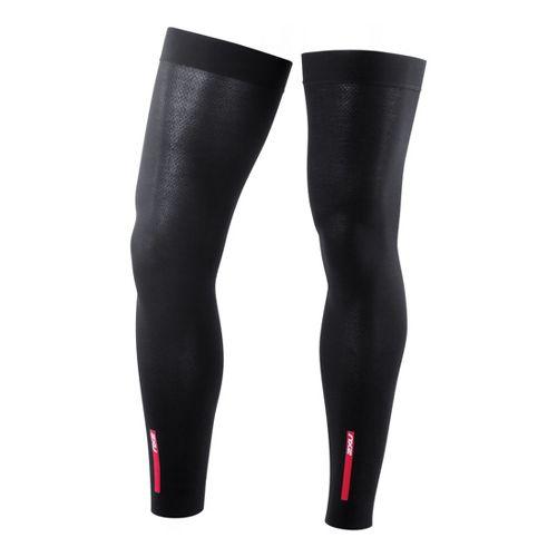 2XU Unisex Compression Leg Warmers Injury Recovery - Black/Black XXL