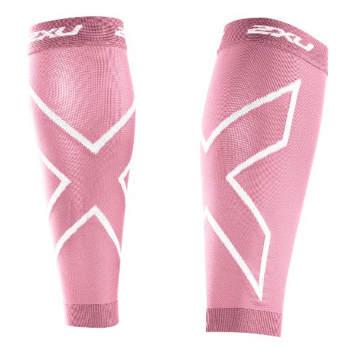 2XU Recovery Calf Sleeves Injury Recovery - Pink/Pink XS