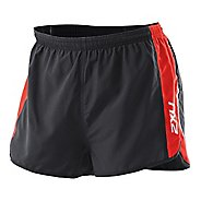 Mens 2XU Training Run Short - Short Leg Lined Shorts